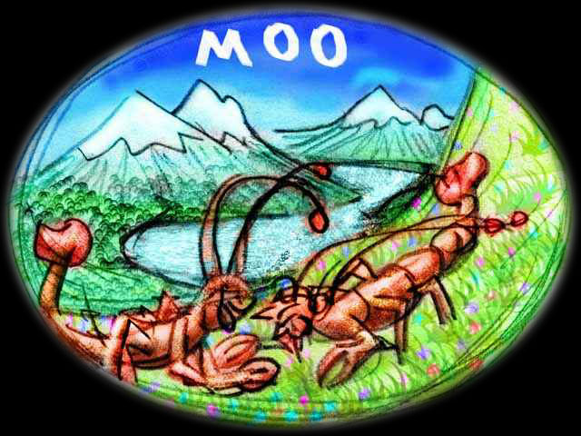 I dream crayfish-cows in an Alpine meadow discuss Church politics and paternity suits.