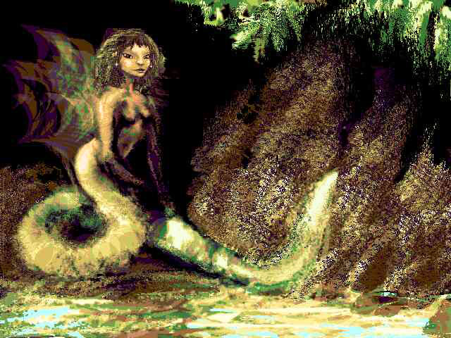 a snake-woman, Balolokong, the Hopi water-goddess