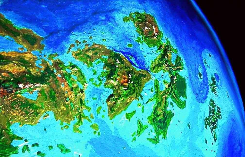 THE WORLD DREAM BANK: Venus Unveiled: Ishtar on globe of venus, solar system of venus, geography of venus, physical features of venus, lakes of venus, earth of venus, regions of venus, colors of venus, cities of venus, poles of venus, landmarks of venus, oceans of venus, stars of venus, map of venus, atmosphere of venus, weather of venus, clouds of venus,