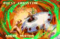 Cover of Andre Norton's QUEST CROSSTIME.