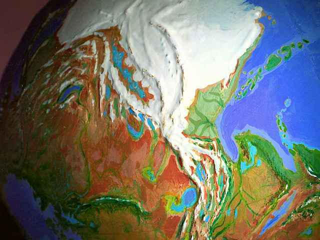 Orbital view of Shiveria, a climatologically alternate Earth: Central Asia.  Click to enlarge.