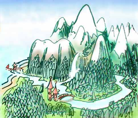 Moomin Valley, where I live in my dream.