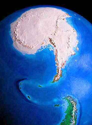 Welcome to turnovia arctica orbital photo of turnovia an upside down earth arctica the northern polar sciox Gallery