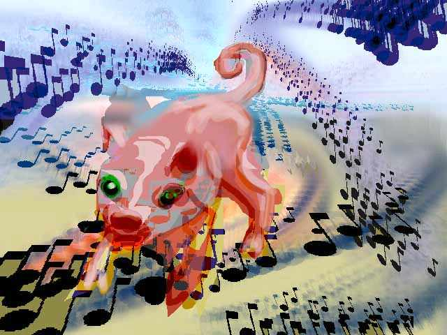 Dream: a starving composer finds a day job as a trash-eating pig.